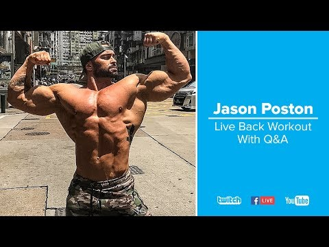 Regular Exercise-Jason Poston's Big Back Workout