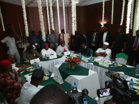 BIAFRA NEWS: SOUTH-EAST GOVERNORS AND SOUTH-SOUTH GOVERNORS IN SECRET MEETING ON BIAFRA CREATION.