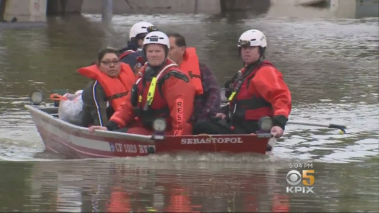 Flooded Russian River Keeps Rising, Leaving Guerneville Isolated