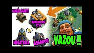 NOVAS DEFESAS E NOVA TROPAS DO CLASH OF CLANS 29/05/17