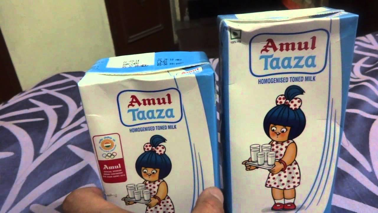 Feedback to Amul - Stick To Taller Taaza Milk Packaging ONLY