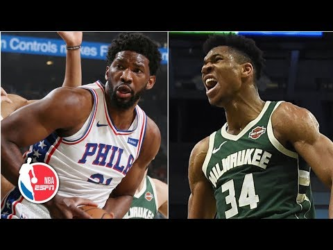 Joel Embiid, 76ers overcome Giannis Antetokounmpo's 52 points for huge win | NBA Highlights thumbnail