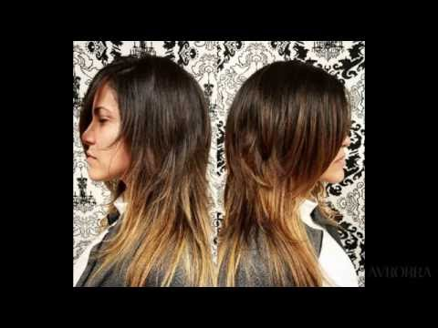 Как подстричься после лесенки. Стрижка Лесенка на средние волосы ... | 360x480