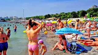 Одесса море пляж ЛАНЖЕРОН 2018
