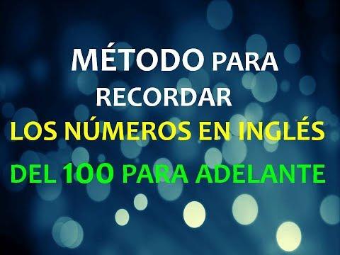 Inglés Americano - Lección 13 - Números del 100 para Adelante