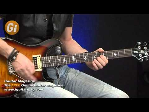 PRS SE Custom 24 Guitar Review with Michael Casswell - iGuitar Magazine