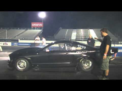 3rd pass Twin Turbo 2009 Mustang Outlaw 10.5
