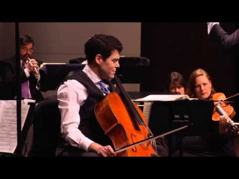 Michael Samis, Cellist - Reinecke Cello Concerto, excerpt