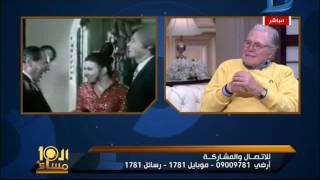 العاشرة مساء| حسين فهمى يحكى ذكرياته مع سعاد حسنى فى فيلم خلى بالك من زوزو