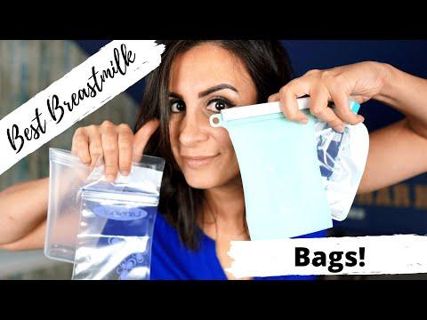 Best Breast Milk Storage Bags 2020 || Junobie vs ZipTop & Lansinoh vs Kiinde Twist Bags ��