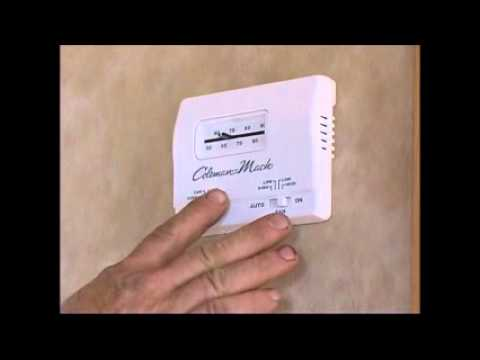 15. How to operate a RV Thermostat