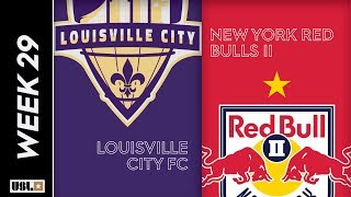 Louisville City FC vs. New York Red Bulls II: September 21, 2019