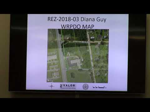 13. REZ-2018-03 Diana Guy - 2497 Madison HWY C-G to C-G and C-H