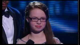 America's Got Talent Semi Final 2014, 12 yo Mara Justine singing Break Away