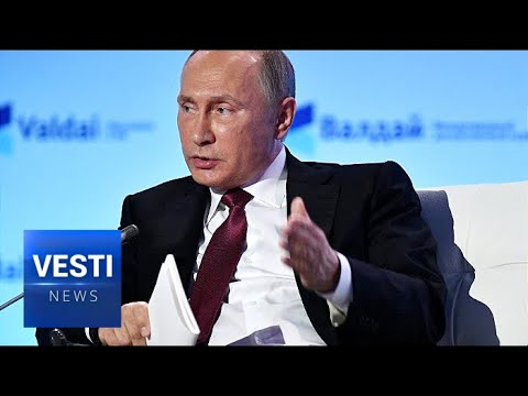 Putin Tackles Nuclear Disarmament, Ukraine and Syria Conflict During Valdai Club Meeting