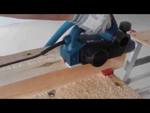 Jak strugać drewno? Na przykładzie struga Bosch GHO 26-82D