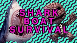 Little Big Planet: Shark Boat Survival (1/2)