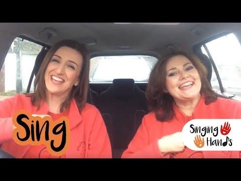Makaton Carpool Karaoke - SING - Singing Hands