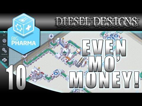 Big Pharma Game: EP10: Making Mo' Money! (Part 1: Gameplay 60FPS)