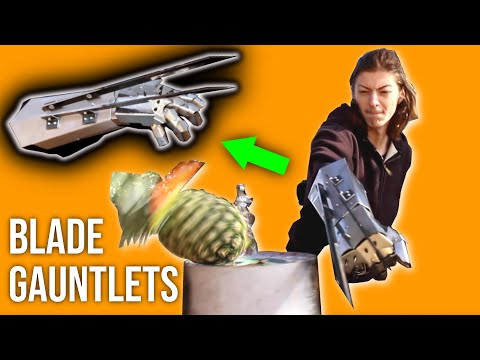DIY Armor Gauntlet PREDATOR CLAW PART 2 (Apocalypse Pyro collab)