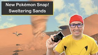 New Pokémon Snap! Sweltering Sands on Nintendo Switch