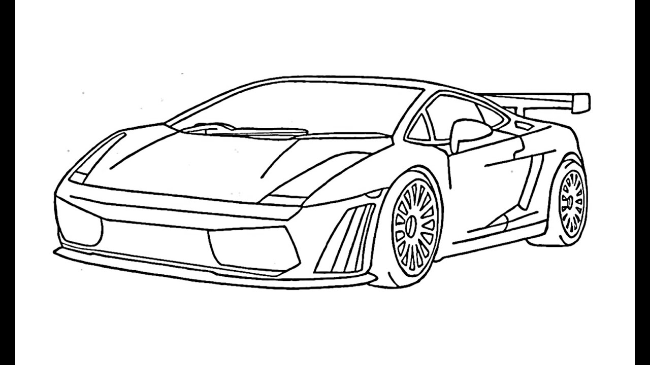 Lamborghini gallardo drawings