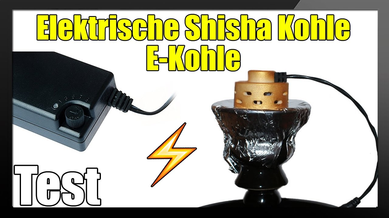 elektrische shisha kohle im test ob das was wird youtube. Black Bedroom Furniture Sets. Home Design Ideas