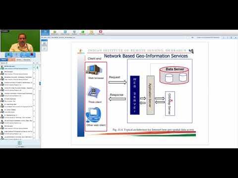 03 Nov 2017 Geo Web Services Technology and Applications by Dr Harish C Karnatak