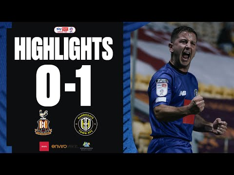 Bradford Harrogate Goals And Highlights