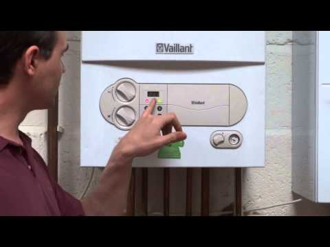 Vaillant Ecotec Mk 1 - Resetting the boiler.