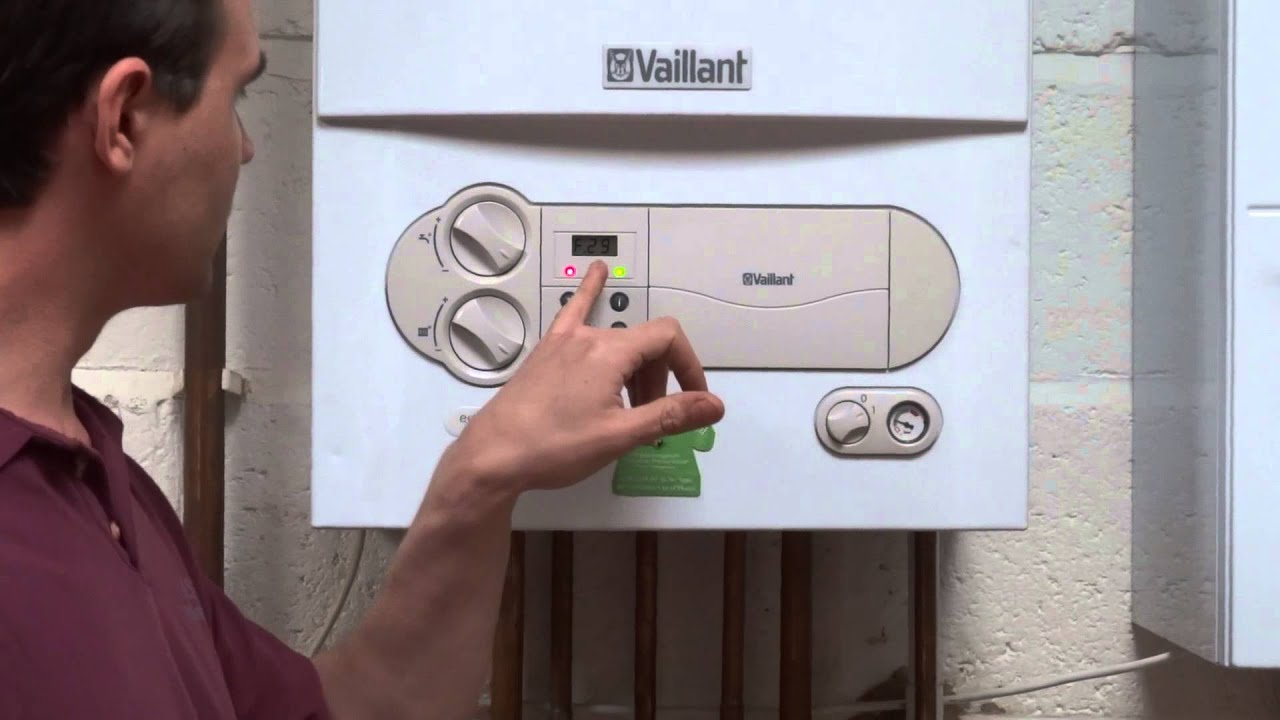 Vaillant Ecotec Mk 1 Resetting The Boiler Youtube System Wiring Diagram