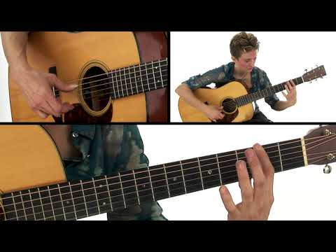 Creative Fingerstyle Guitar for Songwriters - DADGAD Body Boomer Study Performance - Christie Lenée
