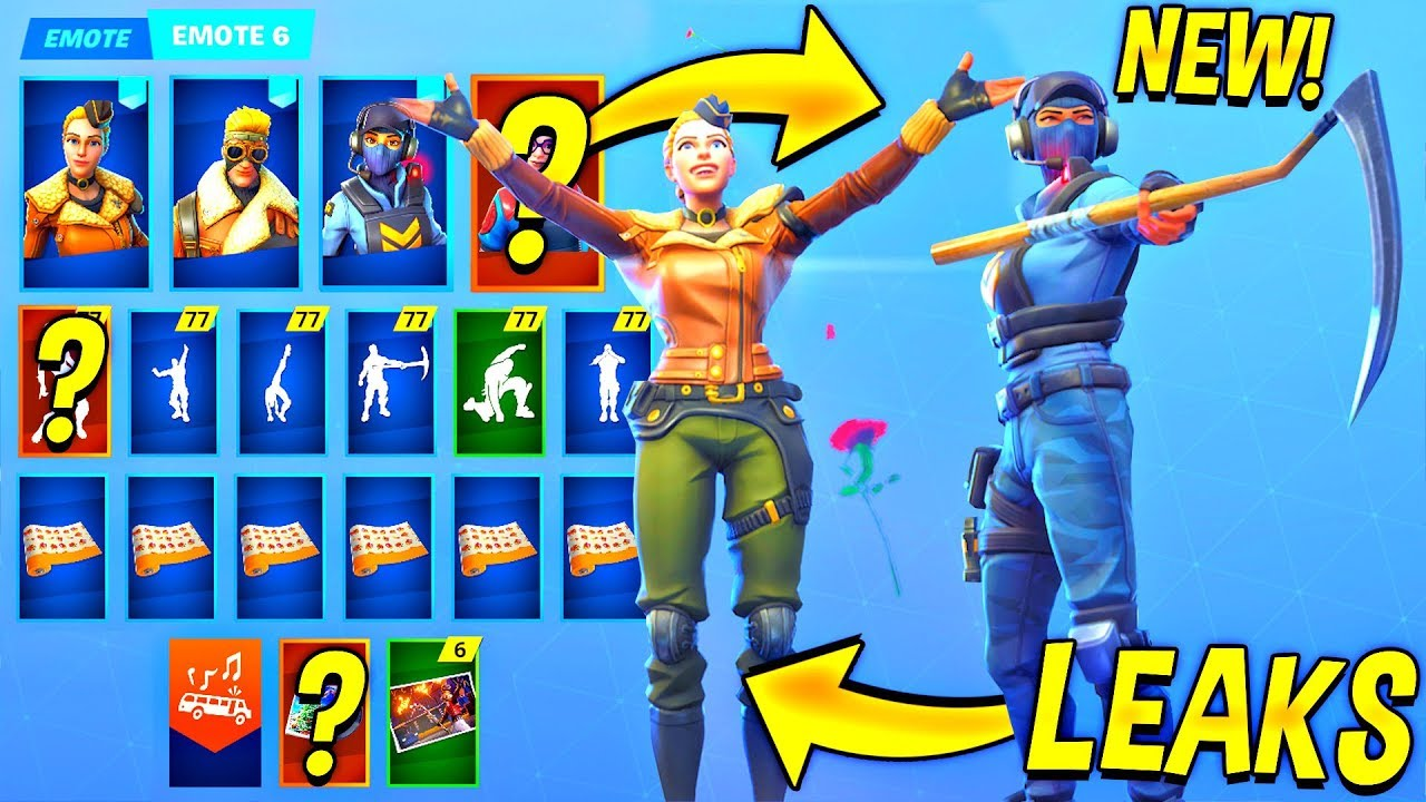 All Leaked Fortnite Season 7 Skins Emotes Waypoint