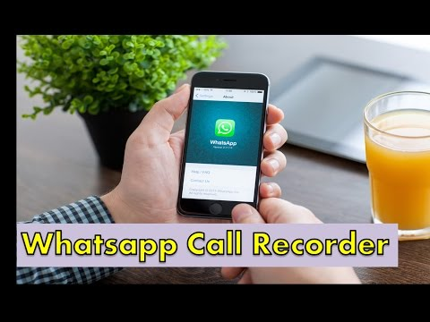 whatsapp call recorder !! how to record a call on android