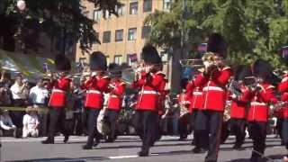 英国陸軍近衛連隊 吹奏楽団  Coldstream Guards Band  ハローよこはま2013 パレード