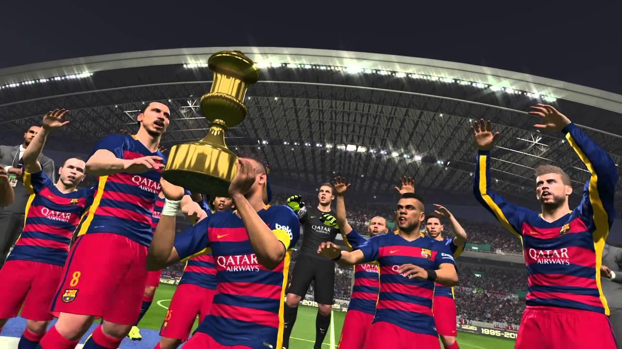 Mundial De Clubes: PES 2016 CAMPEON MUNDIAL DE CLUBES BARCELONA