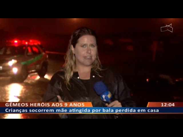 DF ALERTA - Mãe de família é atingida por bala perdida dentro de casa