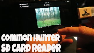 Best Iphone SD Card Reader For Trail Cameras   Common Hunter