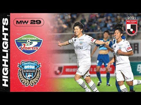 Tokushima Kawasaki Frontale Goals And Highlights