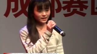 4000年に一人の美少女に整形疑惑?半年容貌大变 2012年snh48鞠婧祎キクちゃん『向上吧少年』唱『绿洲』