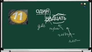 видео Как правильно употреблять числительные? | Междисциплинарный познавательный ресурс