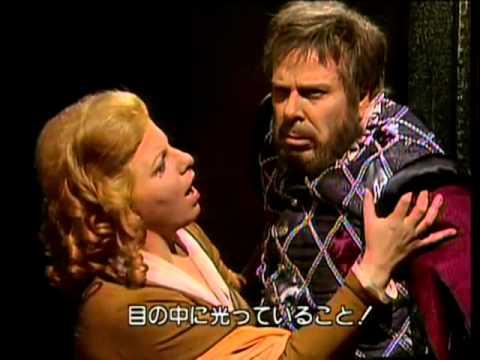 Rolando Panerai & Margherita Rinaldi in Rigoletto - Giuseppe Verdi ( Si vendetta )