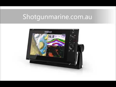 Simrad NSS9 evo3 chartplotter gps in colour