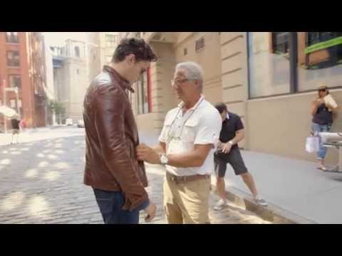 Joseph Abboud on the new Leather Moto Jacket