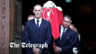Roger Hunt, 1966 World Cup winner and former Liverpool striker, laid to rest in Liverpool