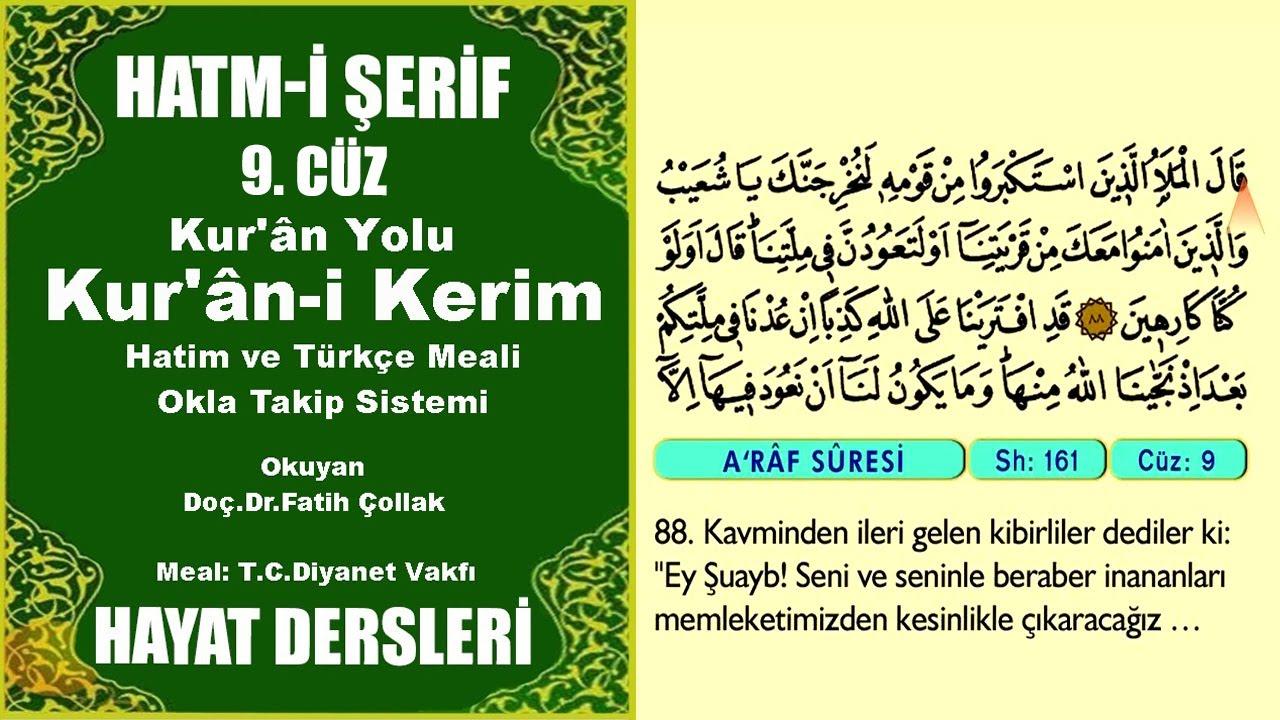 Fatih Çollak - 164.Sayfa - A'râf Suresi (121-130)