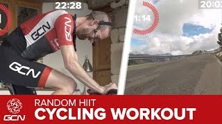 40 Minute Fat Burning Indoor Cycling Training: Random HIIT Workout – Passo Pordoi