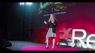 Surrendering to the joy and artistry of fire | BettieJune | TEDxRennes