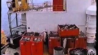 fg mclintock jackup drilling rig part 1