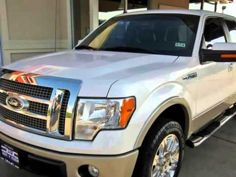2010 Ford F150 Crew Cab Lariat 4x4 With 20 Inch Alloy Wheels Ft Worth Texas Youtube